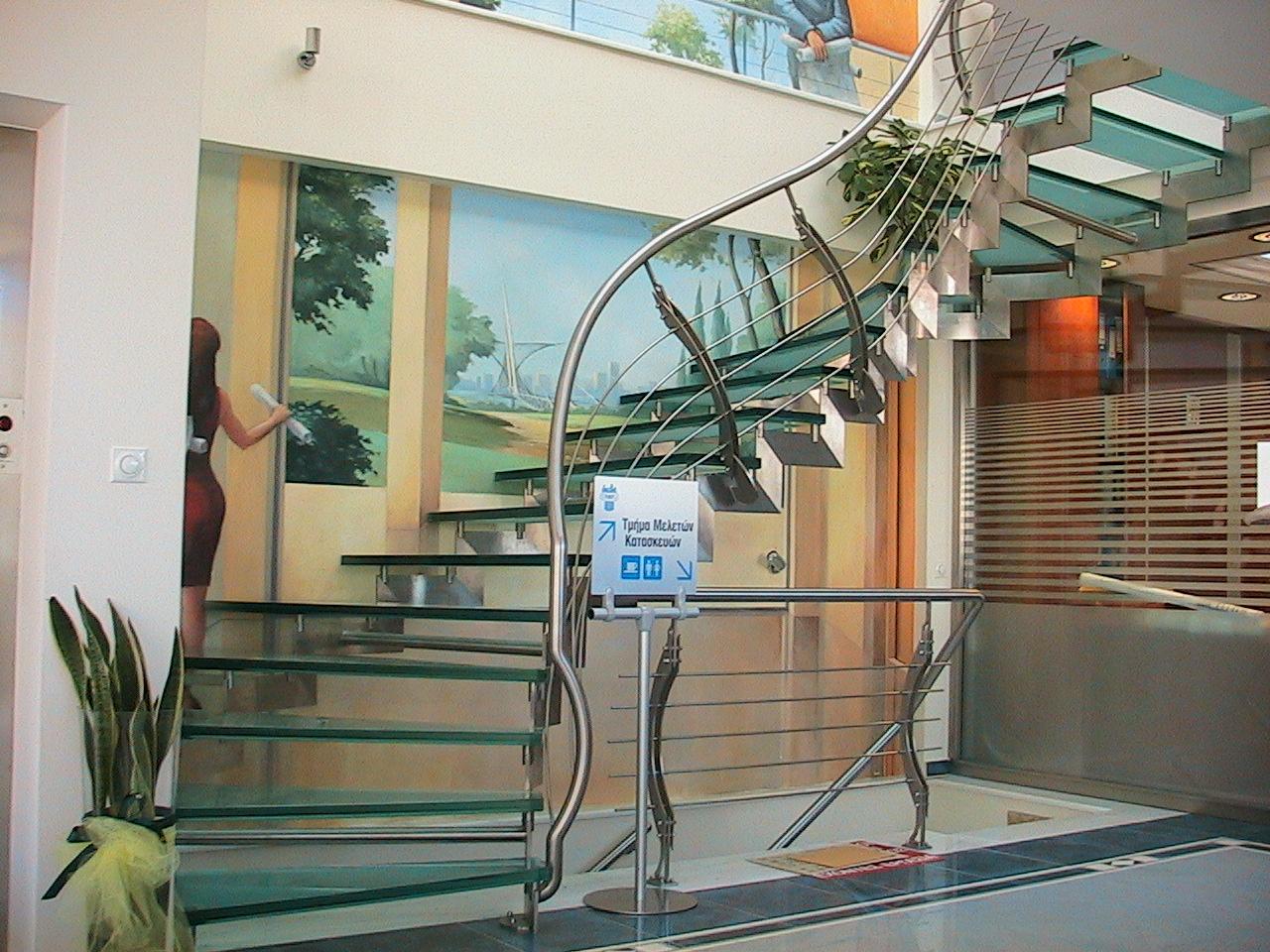 Εσωτερικές σκάλες - Internal stairs