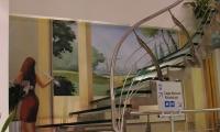 Γυάλινη σκάλα, Glass stair