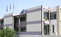 Πλαϊνή όψη γραφείων, Office side view